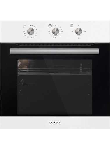 Luxell Luxell Beyaz 3 Prg Project Ankastre Set ( Termostatlı Fırın ) Beyaz